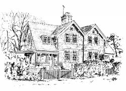 Wynways with Mill Close on the right, Winthorpe
