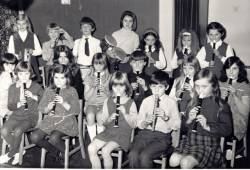 Winthorpe Primary School Orchestra - 1972.