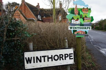 Winthorpe Village Sign