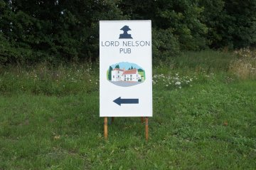 Lord Nelson Public House Sign