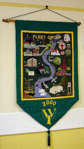 WI Fleet Group Banner - 15th April 2000.