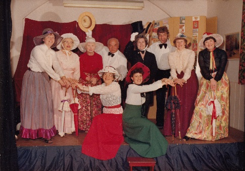 Winthorpe WI's Old Time Music Hall Pantomime - Christmas 1983.