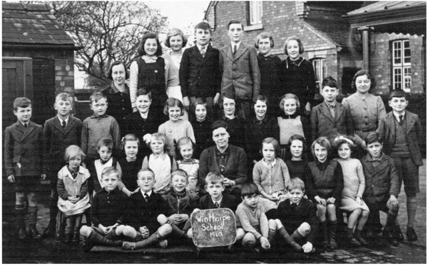 Winthorpe School - September 1940.
