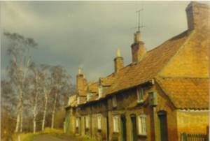 The Almshouses - 1971.