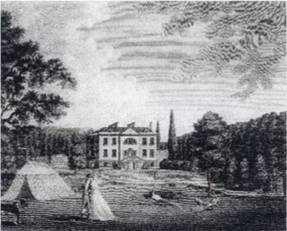 Winthorpe Hall, the seat of Roger Pocklington - 1768.