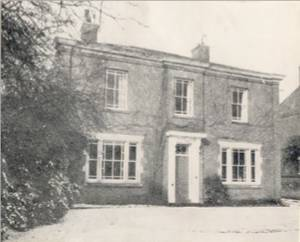 The Lodge, formerly the home of the Bradley family - 1971.