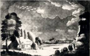 Meteor seen over Winthorpe - August 18th 1783.