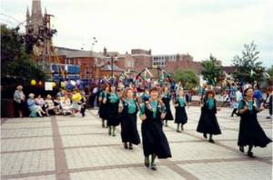 Dancing at Lincoln - 1990.