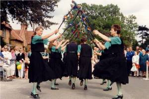Oaks and Acorns at Collingham May Fair - 1991 or 1992.
